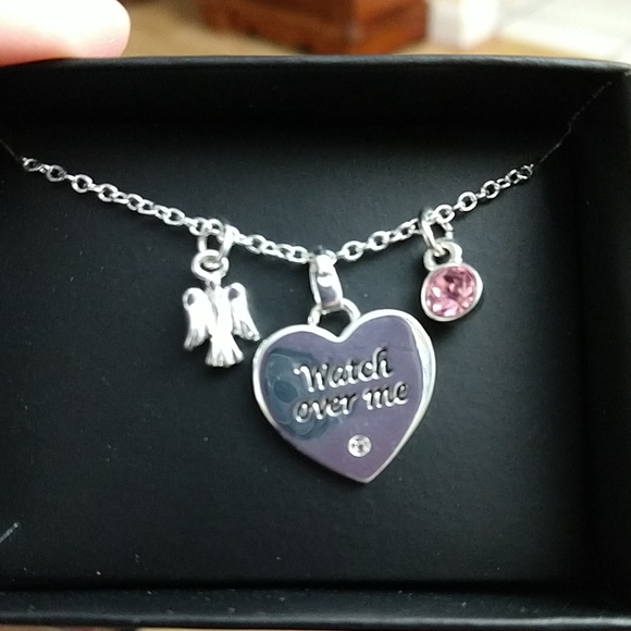 Avon Jewelry - Pink Hope Charm Necklace